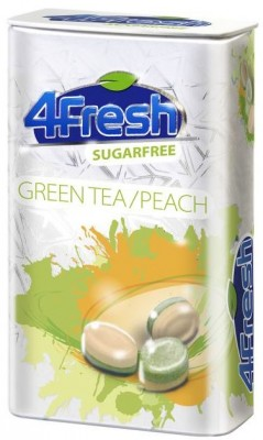 4Fresh Green Tea/Peach bez cukru 25 gr