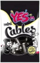 YES Minicables Liquorice Vanilla 80gr