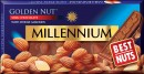 Millennium GOLDEN NUT Almonds chocolate 100 gr